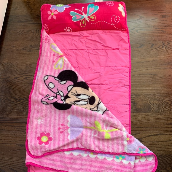 Disney Other - MINNIE MOUSE SLEEPING BAG
